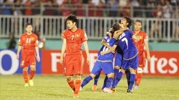 女子アジア杯、ベトナムはプレー...