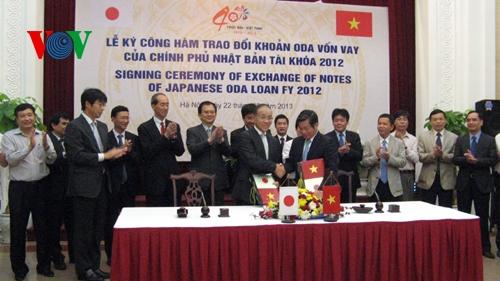 日本の対ベトナム円借款12件、2000億円超