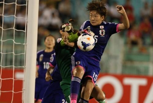 女子アジア杯、なでしこが準決勝...