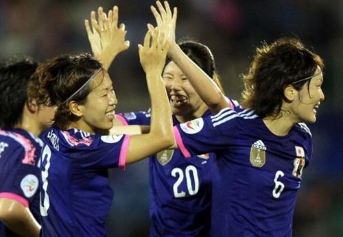 女子アジア杯、なでしこジャパン...