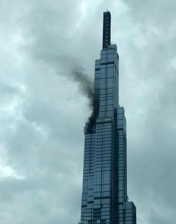 国内最高層「ランドマーク81」から黒煙、けが人なし [社会] - VIETJO ...