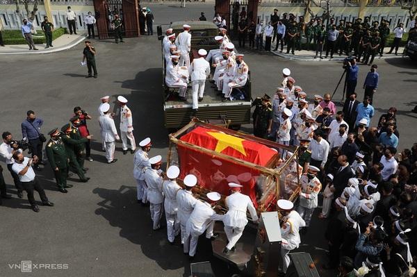 チュオン・ビン・チョン元副首相の葬儀、故郷ベンチェ省に埋葬 [政治 ...